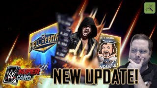 HUGE NEW UPDATE - 30+ NEW CARDS!! HALL OF FAME AND WRESTLEMANIA 33 FUSIONS! | WWE SuperCard