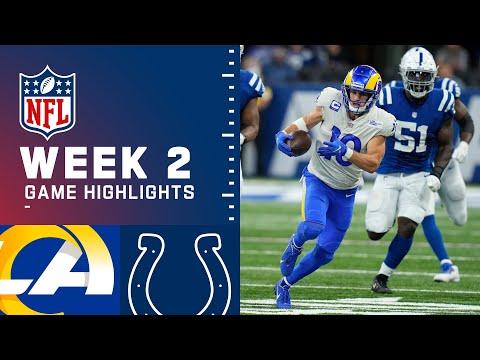 Rams vs. Colts Week 2 Highlights NFL 2021