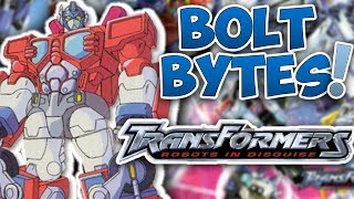 Bolt Bytes - Transformers: Robots in Disguise
