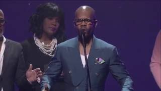 Kirk Franklin Gives Moving Speech & Prayer for Our Nation at the Dove Awards