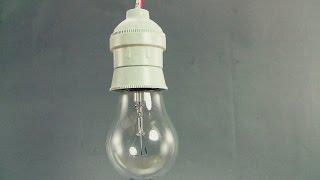 كيف نوصل مصباح (لمبة) بالكهرباء