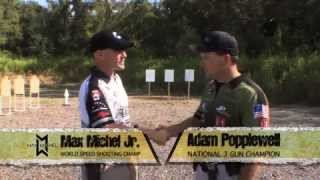 Max Michel discusses 3 Gun Gear selection with Adam Popplewelll Trigger Time TV