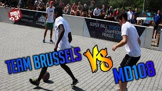 WS3s OPEN SUPERBALL | TEAM BRUSSELS VS MD108