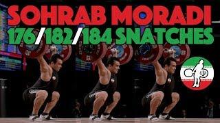 Sohrab Moradi 184kg Snatch 2017 World Championship 94kg [4k 60]