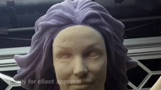 Britney Spears likeness In Foam