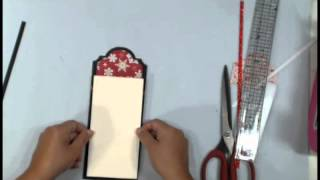 How to make Photo Mats & Tag Toppers with Nesting dies