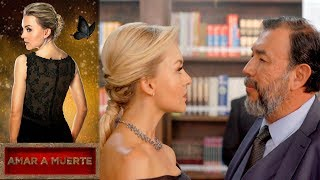 Lucía enfrenta a Servando Armenta | Amar a muerte - Televisa