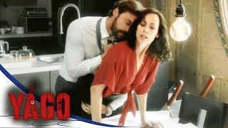 Yago y Sara se dejan llevar y viven un momento de pasión | Yago - Televisa