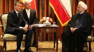 """روحاني يشكك في """"شرعية"""" مطالب باريس وواشنطن للتوصل إلى اتفاق جديد للنووي الإيراني"""