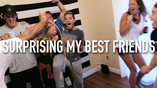 SURPRISING MY BEST FRIENDS BACK HOME