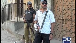 24 Report: Rangers Raid for different area in Karachi peace