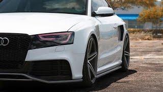 Audi S5 - Acceleration Sound - BRUTAL EXHAUST SOUND - MUST HEAR!!!