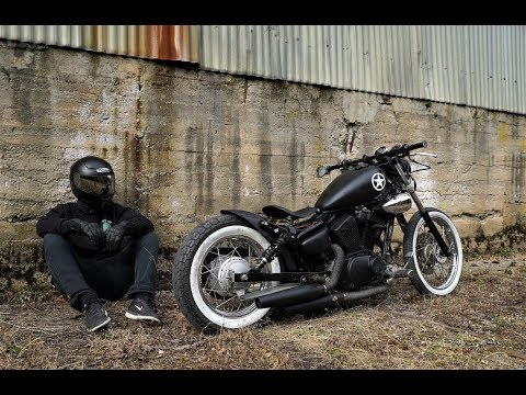 Yamaha Virago 125 Bobber project
