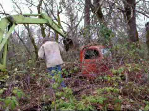 Redneck Restoration s This Old Truck Crusher Rescue 37 Chevy 59 International and 48 GMC