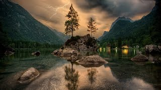 Orage, Pluie et Tonnerre au Loin ♥♥♥ Etude, Détente, Sommeil Paisible, Antistress, Spa 🎧 2Hr.