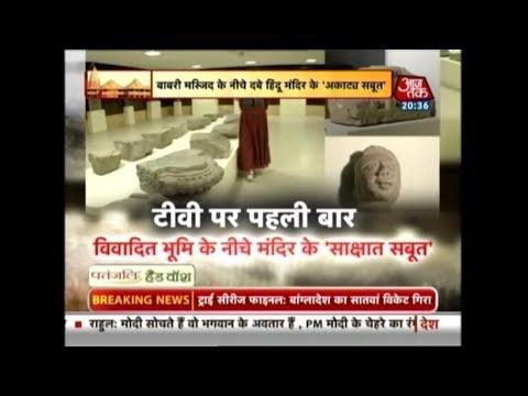 Xxx Mp4 First Time On TV रामजन्मभूमि के नीचे दबे हिंदू मंदिर के Exclusive सबूत 3gp Sex