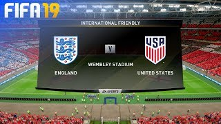 FIFA 19 - England vs. USA @ Wembley Stadium
