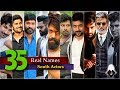 Actor's Real Name: 35 Real Names Of South Indian Actors | Shocking Real Name