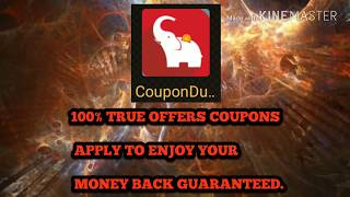💯% True Coupons free free free Cash back money OFFERS