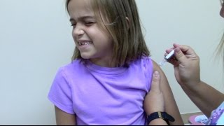 Flu Shots for 6 Kids and 2 Year Old Doctor Checkup