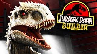 BATALHA DE DINOSSAUROS! - Jurassic Park Builder - Ep 3