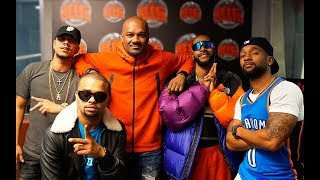 B2K Getting Ready For Their ATL Millennium Tour Stop