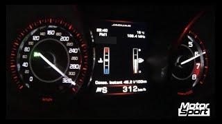 0-312 km/h : Jaguar F-Type R Coupé TOP SPEED (Motorsport)