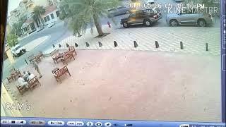 شاهد: اطلاق نار و مطاردة ثم صدم( السعودية الجبيل )