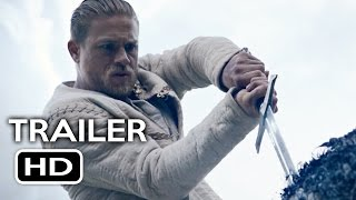 King Arthur: Legend of the Sword Comic Con Trailer (2017) Charlie Hunnam Action Movie HD