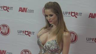 Emily Addison at 2012 AVN AWARDS Show Red Carpet Arrivals
