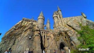 [4K] Hogwarts Castle Tour - Harry Potter and the Forbidden Journey Queue Tour - Universal