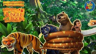 Mowgli, Baloo, Bagheera and Kaa - Meet them in The Jungle Book!
