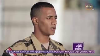 لقاء خاص - جزء من فيلم ( حراس الوطن ) بطولة النجم الجندي  محمد رمضان