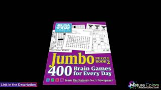 USA TODAY Jumbo Puzzle Book 2 400 Brain Games for Every Day USA Today Puzzles