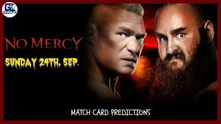 No Mercy 24/09/2017 Highlights Match Card Predictions