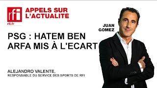 PSG : Hatem Ben Arfa mis à l'écart