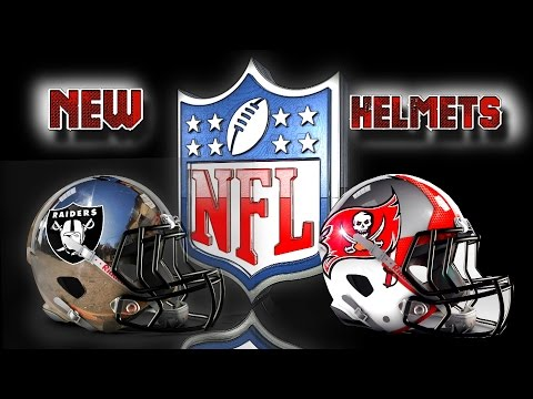 New Helmet Designs NEW NFL and NIKE The Future is Now - Amazing New Logos 2016 HD