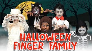 Finger Family Song - Halloween Edition   Two Little Hands TV   Nursery Rhyme