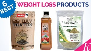 6 Best Weight Loss products in India with Price | Top Fat Burner Remedies