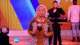 Jussie Smollett and Yazz (Empire) You're So Beautiful The View 3 18 2015
