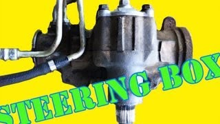 How To Remove your Steering Gear Box
