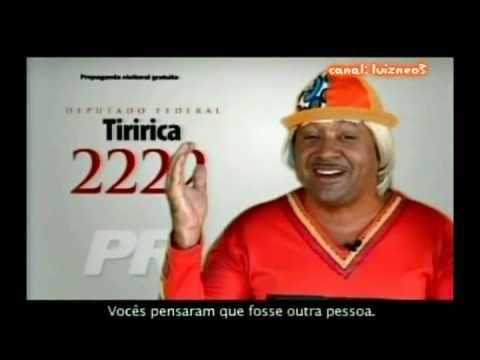 TODAS PROPAGANDAS DE TIRIRICA DEPUTADO FEDERAL 2222 16 09 2010