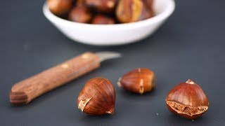 The Trick to Cracking Open A Chestnut- Kitchen Conundrum with Thomas Joseph