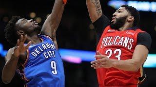 Anthony Davis 44 Points Season High vs Thunder! 2018-19 NBA Season