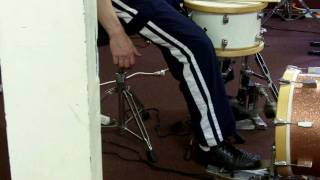 Bass Drum Technique Pt. 5 Simple Double Bass Strokes