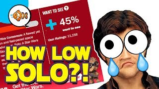 SOLO: How LOW Will Rotten Tomatoes Score Go?!   Star Wars News