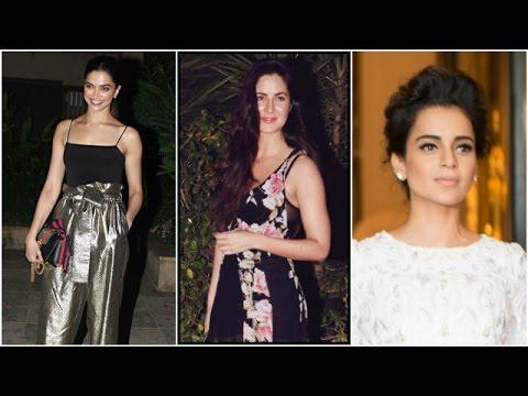Deepika-Katrina Play The Ignore Game | Kangana Targets Her Exes Again