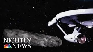 Mysterious asteroid found in solar system | NBC Nightly News