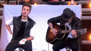 Justin Bieber - Never Let you Go Acoustic in norway