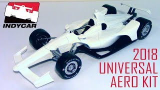 2018 INDYCAR Universal Aero Kit --- 1/18 Greenlight Diecast Review